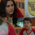 """De """"Malhação"""":Artur (Gabriel Kaufmann) e Julia (Lívian Aragão) agradaram muito os fãs"""