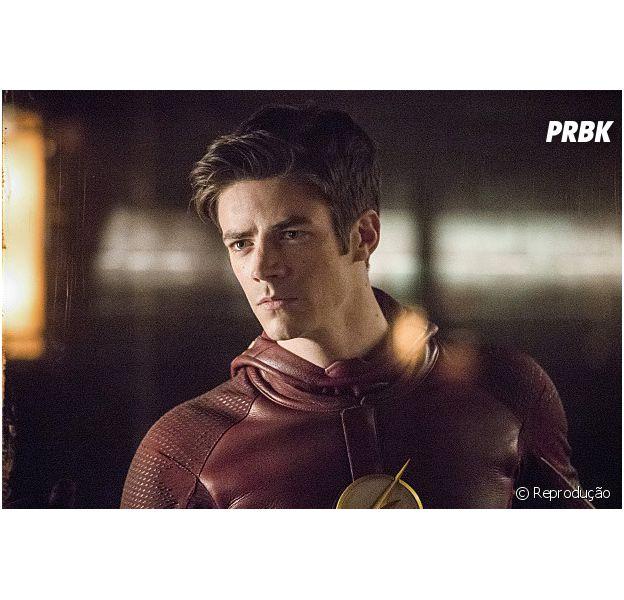 """Em """"The Flash"""", Grant Gustin, o Barry, divulga o nome do primeiro episódio da 3ª temporada!"""