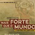 """""""Mais Forte que o Mundo - A História de José Aldo"""" conta as superações de Aldo, ludador brasileiro de MMA"""