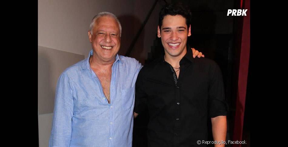 Filho de galã, galã é! O ator Bruno Fagundes tem como pai, ninguém menos que Antonio Fagundes