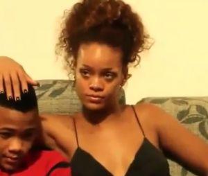 Rihanna passou um tempo com sua família e mostrou seu rosto sem make