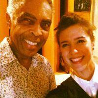 """Marjorie Estiano faz parceria com Gilberto Gil em música """"Luz do Sol"""""""
