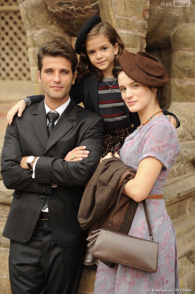 """Bruno Gagliasso e Bianca Bin formam o casal principal de """"Joia Rara"""". A fofa da atriz Mel Maia será será a filha do casal e aprontará bastante na história."""