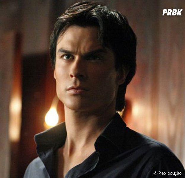 """Em """"The Vampire Diaries"""": na 8ª temporada,Damon (Ian Somerhalder) será como capanga de vilão, adianta roteirista!"""