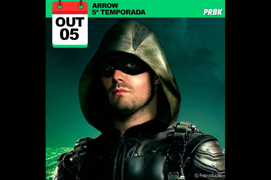 """Série """"Arrow"""": novos episódios dia 05/10/2016"""