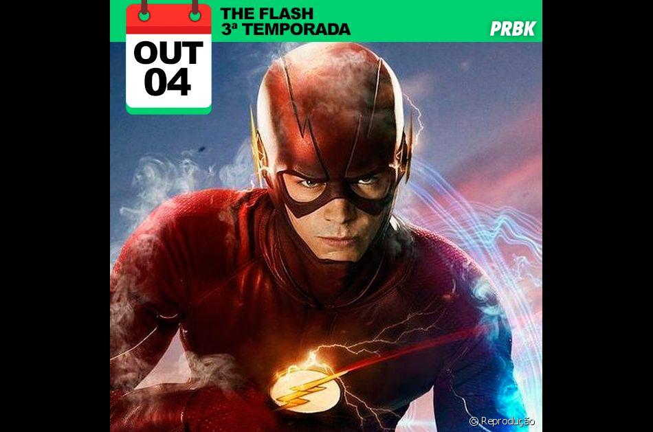 """Série """"The Flash"""": 3ª temporada dia 04/10/2016"""