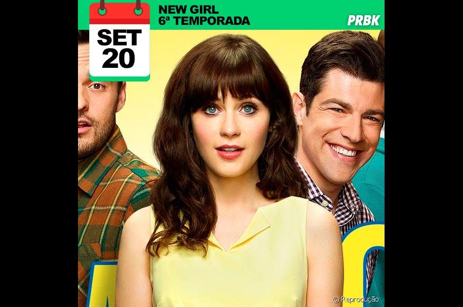 """Série """"New Girl"""" - Sexta temporada dia 20/09/2016"""