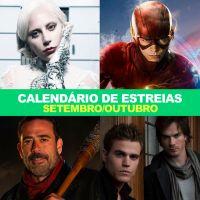 """Com """"The Flash"""", """"Arrow"""", """"The Walking Dead"""" e mais: confira data de estreias em setembro e outubro!"""