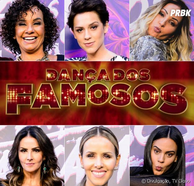 """Mulheres da """"Dança dos Famosos 2016"""" competem neste domingo (04)"""