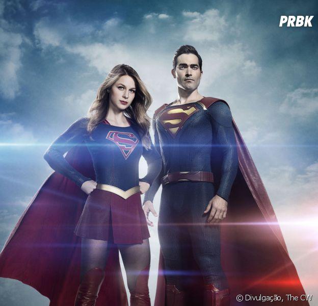 """Em """"Supergirl"""", Tyler Hoechlin fala sobre sua participação como Superman: """"Símbolo de esperança"""""""