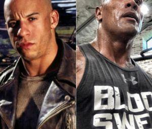 """Vin Diesel e Dwayne Johnson teriam brigado no set de filmagens de """"Velozes & Furiosos 8"""""""
