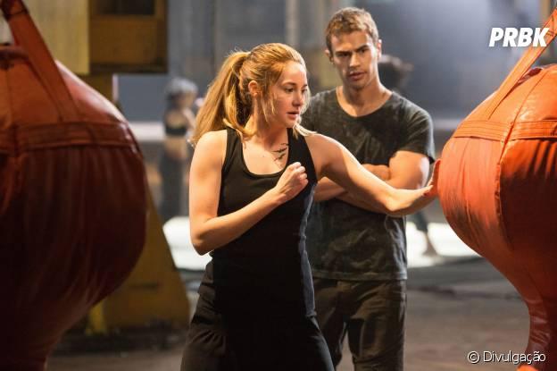 """Theo James e Shailene Woodley serão parceiros em """"Divergente"""""""