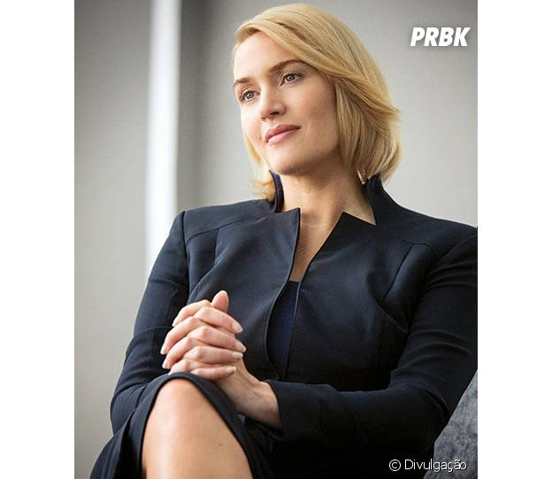 "Em ""Divergente"", Kate Winslet é a vilã Jeanine"