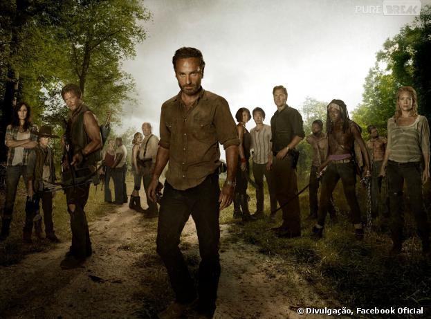 """""""The Walking Dead"""" retorna neste domingo (13) para a sua 4ª temporada!"""