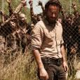 """Os zumbis vão continuar sendo uma ameaça para Rick (Andrew Lincoln) e companhia na nova temporada de """"The Walking Dead"""""""