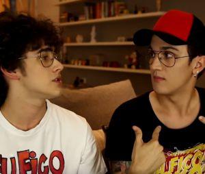 """Christian Figueiredo e Filipe Bragança fazem vídeos juntos no canal """"Eu Fico Loko"""""""