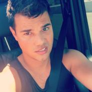"""Em """"Scream Queens"""": na 2ª temporada, Taylor Lautner aparece com cabelo roxo em episódio!"""