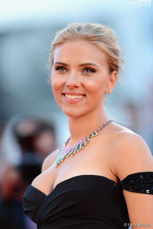 Scarlett Johansson é uma das celebridades mais desejadas do mundo