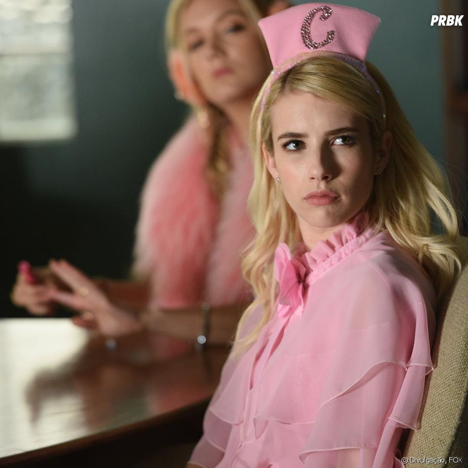 "Chanel Oberlin (Emma Roberts) é a rainha das maldades em ""Scream Queens"""