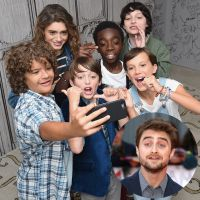 "De ""Stranger Things"": Daniel Radcliffe, o eterno Harry Potter, se compara ao elenco mirim da série!"