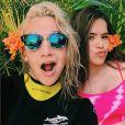 Maisa Silva e Priscilla Alcantara fazem caras e bocas em clique no Instagram
