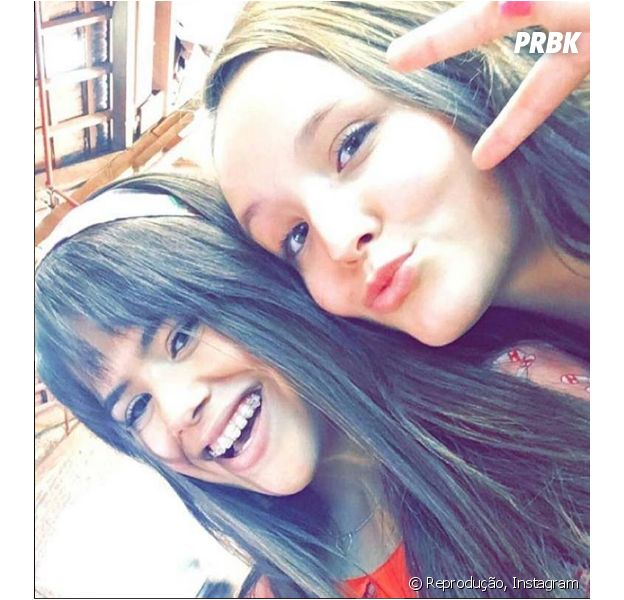 Maisa Silva e Larissa Manoela são super amigas e vivem tirando fotos juntas!