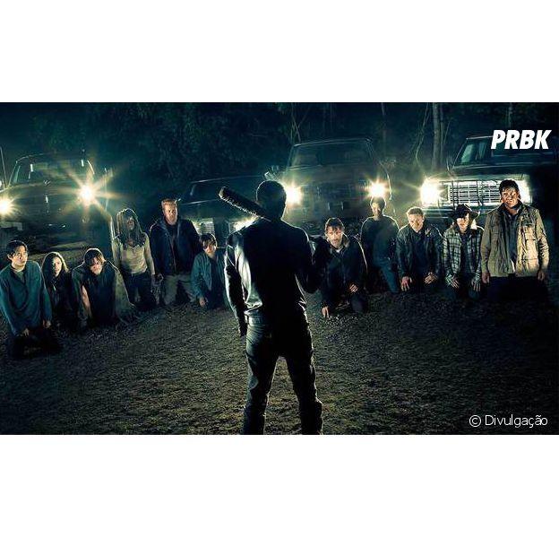 """Em """"The Walking Dead"""": trailer da 7ª temporada revela o que Negan (Jeffrey Dean Morgan) fez com a sua vítima"""