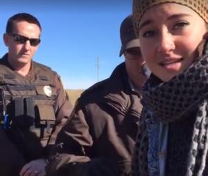 A prisão de Shailene Woodley foi transmitida ao vivo pelo Facebook da atriz