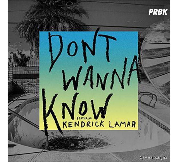 """Capa de """"Don't Wanna Know"""" é revelada e fãs piram nas redes sociais"""
