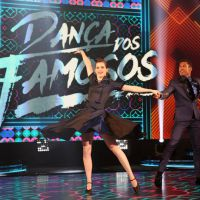 """Na """"Dança dos Famosos 2016"""": Sophia Abrahão arrasa dançando rock e lidera o ranking da disputa!"""