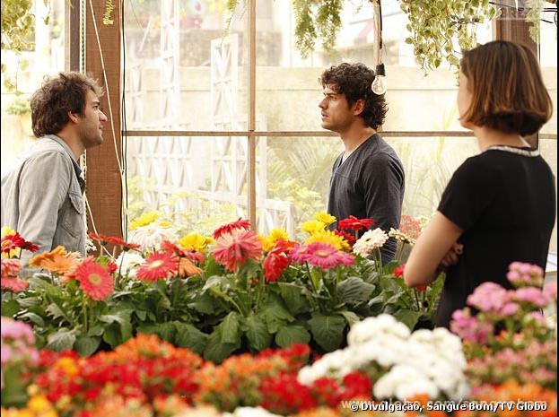 Amora (Sophie Charlotte), Bento (Marco Pigossi) e Fabinho (Humberto Carrão) vão passar por momentos de tensão nos próximos capítulos!
