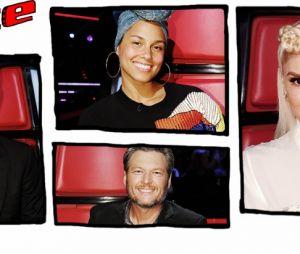 """Time de técnicos da 12ª temporada do """"The Voice US"""" será formado por Gwen Stefani, Alicia Keys, Adam Levine e Blake Shelton"""