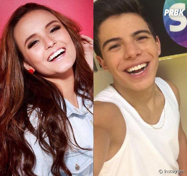 Larissa Manoela e Thomaz Costa brigaram pelo Snapchat após ator divulgar número do celular da musa teen