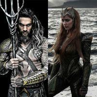 """De """"Aquaman"""", diretor fala sobre relação entre protagonista e Mera (Amber Heard): """"Interessante"""""""