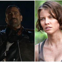 """De """"The Walking Dead"""": da 7ª temporada, vaza cena alternativa com Negan matando Maggie! OMG"""