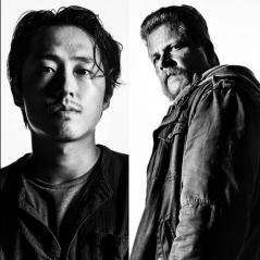"""Em """"The Walking Dead"""": na 7ª temporada, Steven Yuen e Michael Cudlitz se despedem da série!"""
