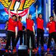 """Os integrantes da equipeprofissional SK Telecom T1 de """"League Of Legends"""""""