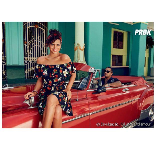 Bruna Marquezine faz ensaio para a revista Glamour