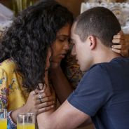 """Novela """"Malhação"""": Joana (Aline Dias) ouve declaração de Giovane e os dois se beijam!"""