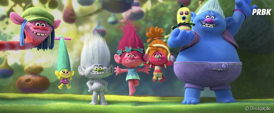"""Animação """"Trolls"""" é a segunda maior bilheteria dos EUA durante o fim de semana"""