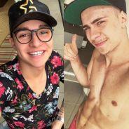 """MC Gui posta foto com Léo Picon no Instagram e fãs vão à loucura: """"Muita beleza pra uma foto só"""""""