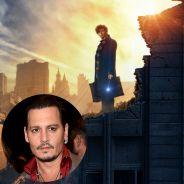 """De """"Animais Fantásticos e Onde Habitam"""", produtor explica escalação de Johnny Depp: """"Um grande ator"""""""