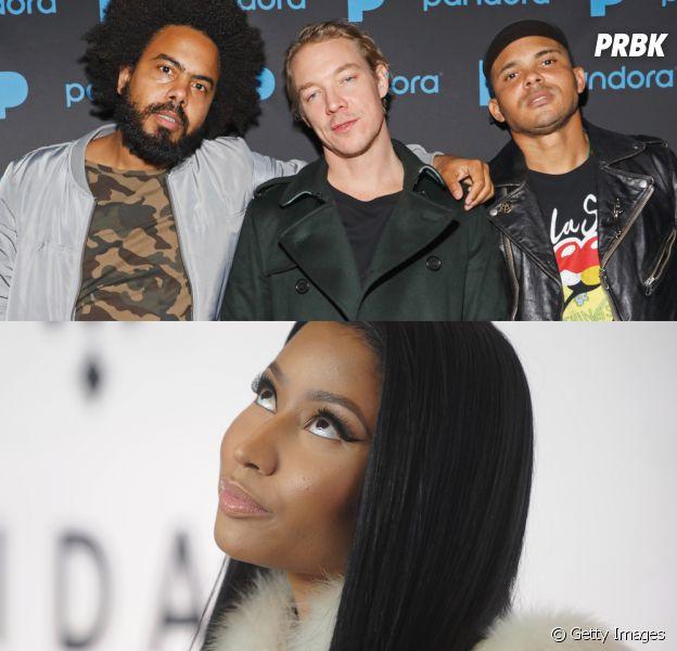Major Lazer e Nicki Minaj vão lançar novo single em parceria com o Partynextdoor!