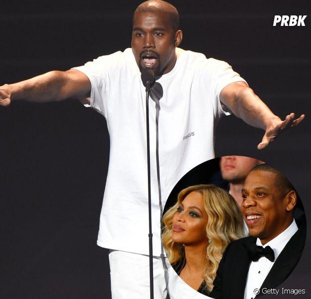 Kanye West parou uma de suas apresentações para criticar Jay Z e Beyoncé