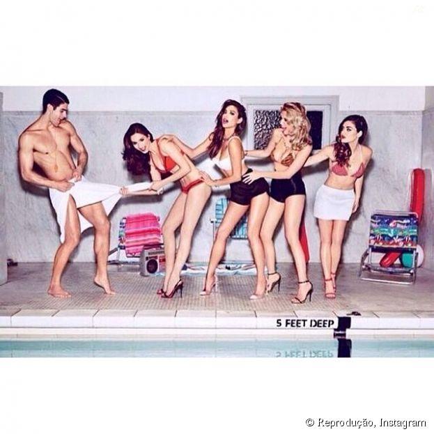 """Meninas de """"Pretty Little Liars"""" divulgam no Instagram o ensaio produzido pela revista """"GQ"""" americana!"""