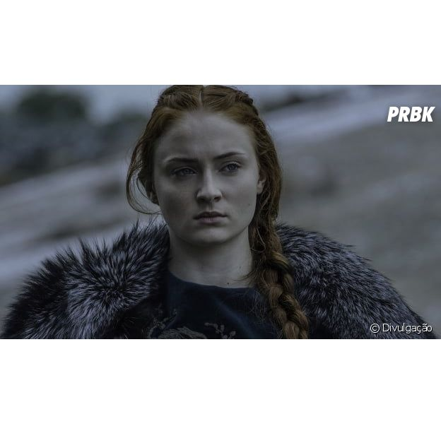 "De ""Game of Thrones"": Sansa (Sophie Turner), Jon Snow (Kit Harington) e Arya (Maisie Williams) aparecem em imagens do 1º epispodio!"