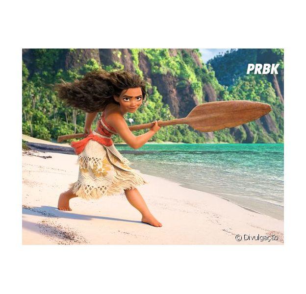 Moana é a nova personagem valente e destemida da Disney