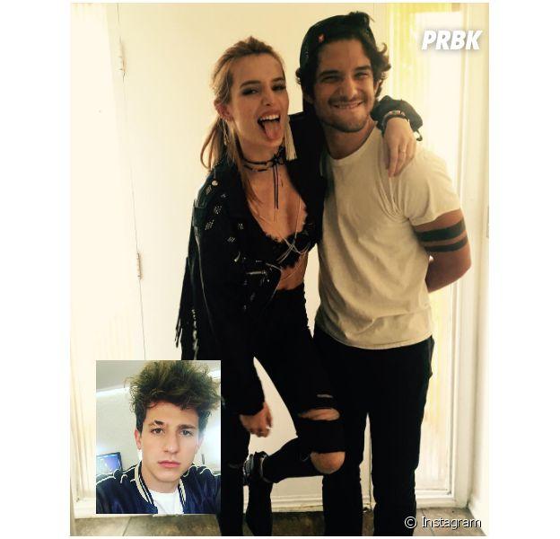 Bella Thorne, Charlie Puth e Tyler Posey vivendo triângulo amoroso? Cantor faz desabafo no Twitter!