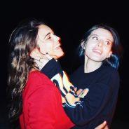 Bella Thorne beija amiga durante a virada do ano e surpreende os fãs mais uma vez nas redes sociais!