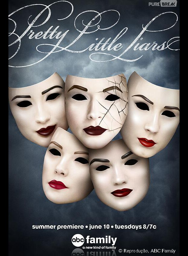 "Novo pôster para a quinta temporada de ""Pretty Little Liars""!"